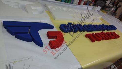 2 Renk Strafor Logo